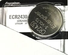 1 New ENERGIZER CR2430 Lithium 3v Coin Battery Australia Stock FAST SHIPPING