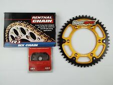 KTM EXC300 Gold Renthal R1 H/D Chain And Supersprox Stealth Sprocket Kit