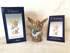 "Fontanini KNEELING ANGEL 5"" Nativity Figurine by Roman 72518 Christmas Italy"
