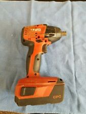 Hilti Siw 6AT-A22 Cordless Impact Driver 1/2 Dr with b22 4.0 battery No Charger