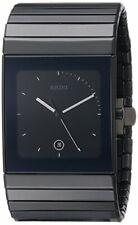 Rado Men's Ceramica XL Black Dial Watch - R21717152
