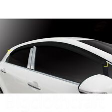 New Smoke Window Vent Visors Rain Guards for Kia Rio5 Pride 5door 2012 - 2015