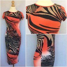 NEXT Round Neck Animal Print Dresses Midi