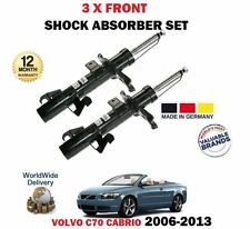 FOR VOLVO C70 2.0 2.4 T5 D3 D4 2006-> 2X FRONT LEFT + RIGHT SHOCK ABSORBER SET