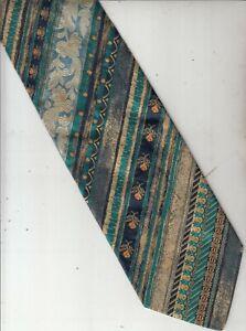 Byblos-Authentic-100% Silk Tie-Made In Italy-74-Men's Tie