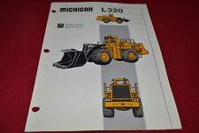 Michigan L320 Wheel Loader Dealer's Brochure YABE15