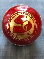 Sg Seamer Red Cricket Ball -Leather Entirely Hand Stitched,5.5oz For 50 Overs