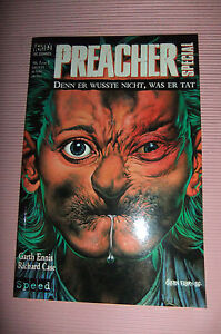 9,6 NM+ PREACHER THE STORY OF YOU KNOW WHO # 1 GERMAN EURO VARIANT WP ENNIS