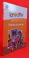 2011 Creativo Quaderno Attività Tedesco PALIER2 ANNEE2 IN 4 Tbe