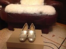 FRANCO SARTO GOLD LEATHER WOMEN SHOES SIZE 9M
