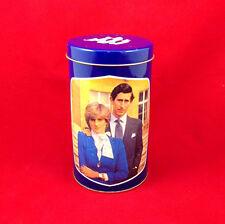 Princess Diana & Prince Charles '81 Royal Wedding Commemorative Cookie Tin