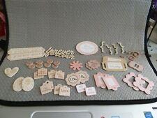 Wedding Toppers/Scrapbook Embellishments inc Words