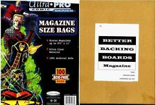 Comic Bag & Boards Combo Magazine Size (Ultra Pro)