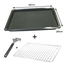 PRIMA Genuine Oven Cooker Grill Enameled Fat Pan Tray + Rack + Handle Spare