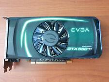 EVGA NVIDIA GEFORCE GTX 550 Ti 1 GB DUAL DVI HDMI PCI-E GRAPHICS VIDEO CARD