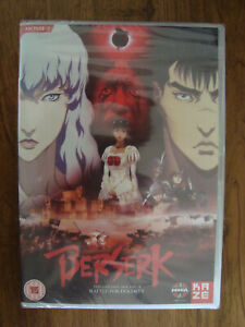 BERSERK GOLDEN AGE ARC 2 BATTLE FOR DOLDREY DVD MANGA KAZE NEW SEALED