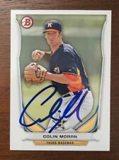 COLIN MORAN 2014 BOWMAN AUTOGRAPHED SIGNED AUTO BASEBALL CARD BP29 ASTROS
