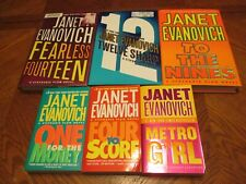 6 Fiction Best Sellers by Janet Evanovich