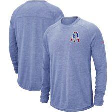 Nike Mens New England Patriots Retro Logo Long Sleeve Sweatshirt XL NEW $70