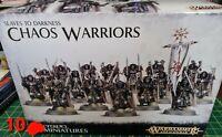 Warhammer Fantasy AOS 10x Chaos Warriors