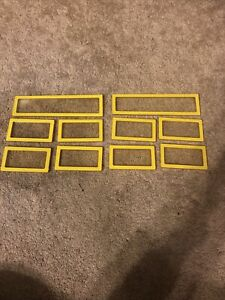 VTG 1978 YELLOW BARBIE A-FRAME DREAM HOUSE FRONT CLEAR WINDOWS Repl Pieces