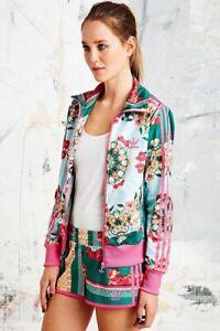 Adidas Originals Brazilian Farm Floralina Borboflor Print Track Jacket Pink