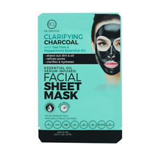 BCL Essential Oil Serum - Infused Facial Sheet Mask   Charcoal