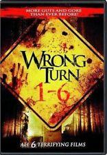 Wrong Turn, Dead End/Left for Dead/Bloody Beginnings/Bloodlines/Last Resort, DVD