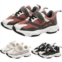 Kids Boys Girls Mesh Breathable Trainers Sneakers Children Sports Shoes Casual