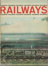 Old RAILWAYS (of the world) Book by Hamlyn:TRAINS,STEAM ENGINES,MONORAIL,COG,