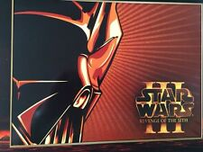 Shepard Fairey Obey Giant Star Wars Revenge Sith With Promo Print