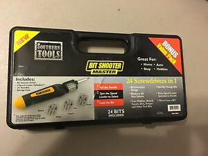 Southern Tools Bit Shooter Master, 24 Bits, 24 Screwdrivers in one. Qty. 6-Each