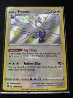 Pokemon  -  Swanna - SV096/SV122 - Shiny Holo Rare - Shining Fates