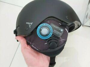 Rrp £90 SALOMON Women's Spell+ spell plus Helmet S Black marble
