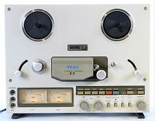TEAC X-3 Stereo Tape Deck Recorder Reel to Reel Very Nice Vintage Condition