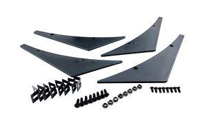 4 JDM Sport Front Bumper Lip Kit Diffuser Spoiler Canards Splitter Universal Fit