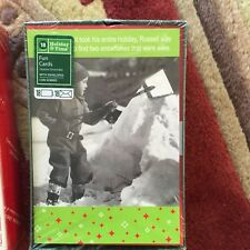 """Vintage Holiday Time """"Fun Cards� ~ 18 Count ~ Christmas ~ New"""