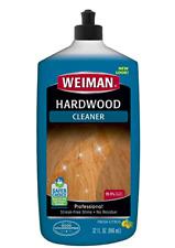 Weiman Hardwood Floor Cleaner - 32 Ounce - Non-toxic for Finished Hardwood Oak M