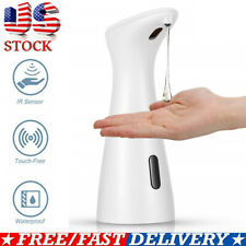 Waterproof Automatic Liquid Soap Dispenser Touchless IR Sensor Hands Free MY US
