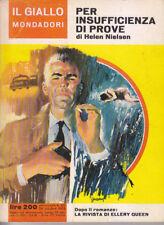 PER INSUFFICIENZA DI PROVE Helen Nielsen 873 il giallo Mondadori 24 ottobre 1965