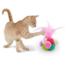 Funny Cat Toy  Feature Cat Toys  Catnip Scratcher Playing Ball Toys Bell