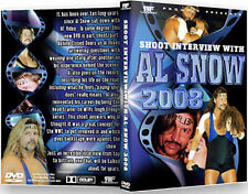 Al Snow 2008 Shoot Interview Wrestling DVD, WWE ECW wwf head