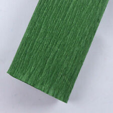 shade 991 Leaf Green Crepe Paper roll 140g 20in Wide x 8ft Long