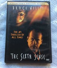 The Sixth Sense (Dvd, 2000, Collectors Series) Bruce Willis Haley Joel Osment