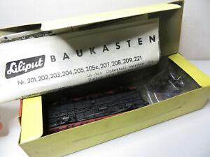 248/1 HO - Liliput HO - Bausatz Niederbordwagen braun ÖBB - top - mit VP