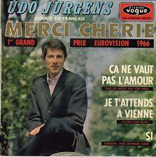 UDO JURGENS MERCI CHERIE FRENCH ORIG EP