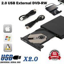 External Slot USB Load CD DVD RW Drive Writer Burner Apple Macbook Pro New