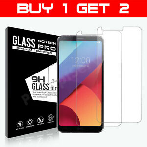 100% Genuine Tempered Glass Film Screen Protector For LG G6