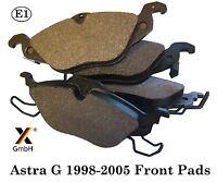 Vauxhall Astra G 1998-05 Zafira 99-00 Front Brake Pad Set (4 pads) NEW adb3584