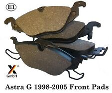 Vauxhall Astra G 1998-05 Zafira 99-00 Front Brake Pad Set (4 pads) NEW Germany